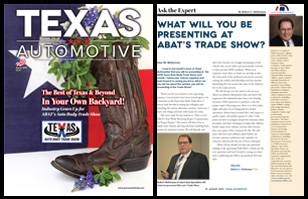 August 2019 Texas Automotive Magazine Robert L McDorman