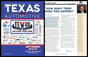 September 2019 Texas Automotive Magazine Robert L McDorman