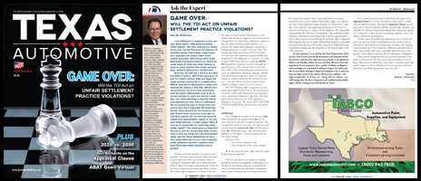 February 2020 Texas Automotive Magazine Robert L McDorman