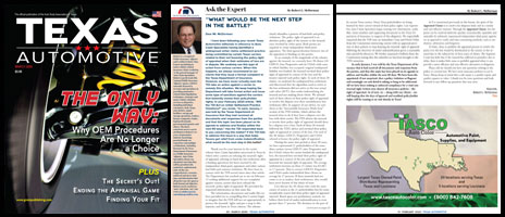 March 2020 Texas Automotive Magazine Robert L McDorman