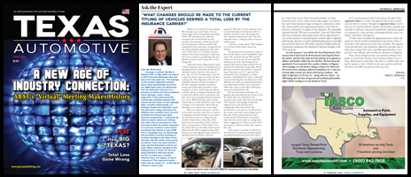 April 2020 Texas Automotive Magazine Robert L McDorman