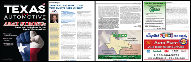 May 2020 Texas Automotive Magazine Robert L McDorman