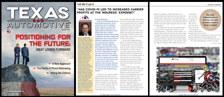 August 2020 Texas Automotive Magazine Robert L McDorman