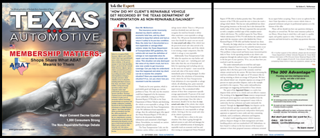 September 2020 Texas Automotive Magazine Robert L McDorman