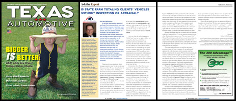 October 2020 Texas Automotive Magazine Robert L McDorman